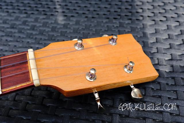 NFC Ukuleles Cedar Tenor headstock