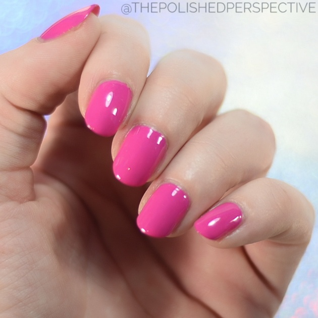 china glaze kiss my sherbet lips swatch