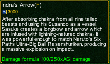 naruto castle defense 6.2 naruto Indra arrow detail