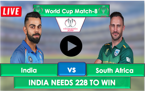 India vs SouthAfrica, Live Streaming, India need 228 runs to win