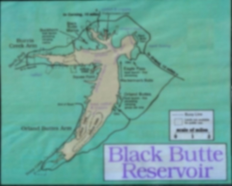 2018 Black Butte Reservoir Fishing Map,Fishing Report, Fishing Clubs ...