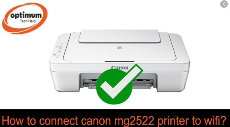 Canon Printer Connect to Wifi