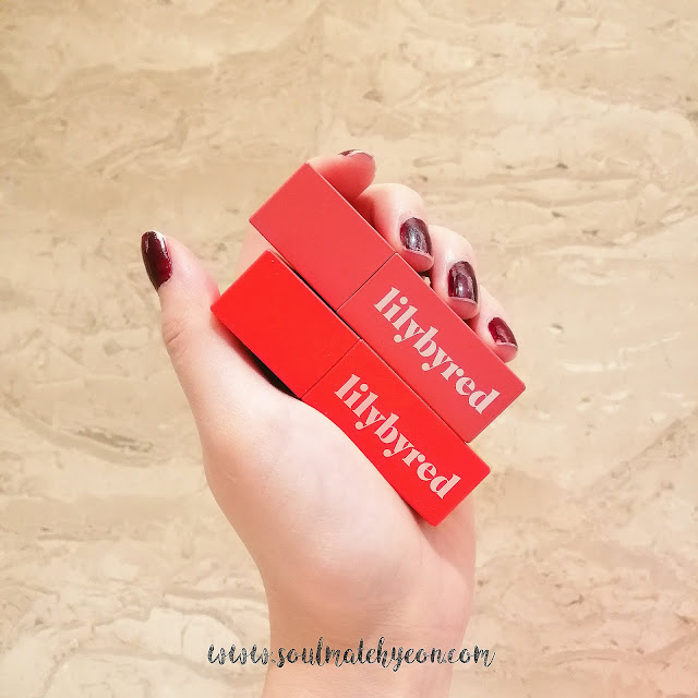 Review; Lilybyred's Mood Liar Velvet Tint #02 Citrus & #03 Apricot