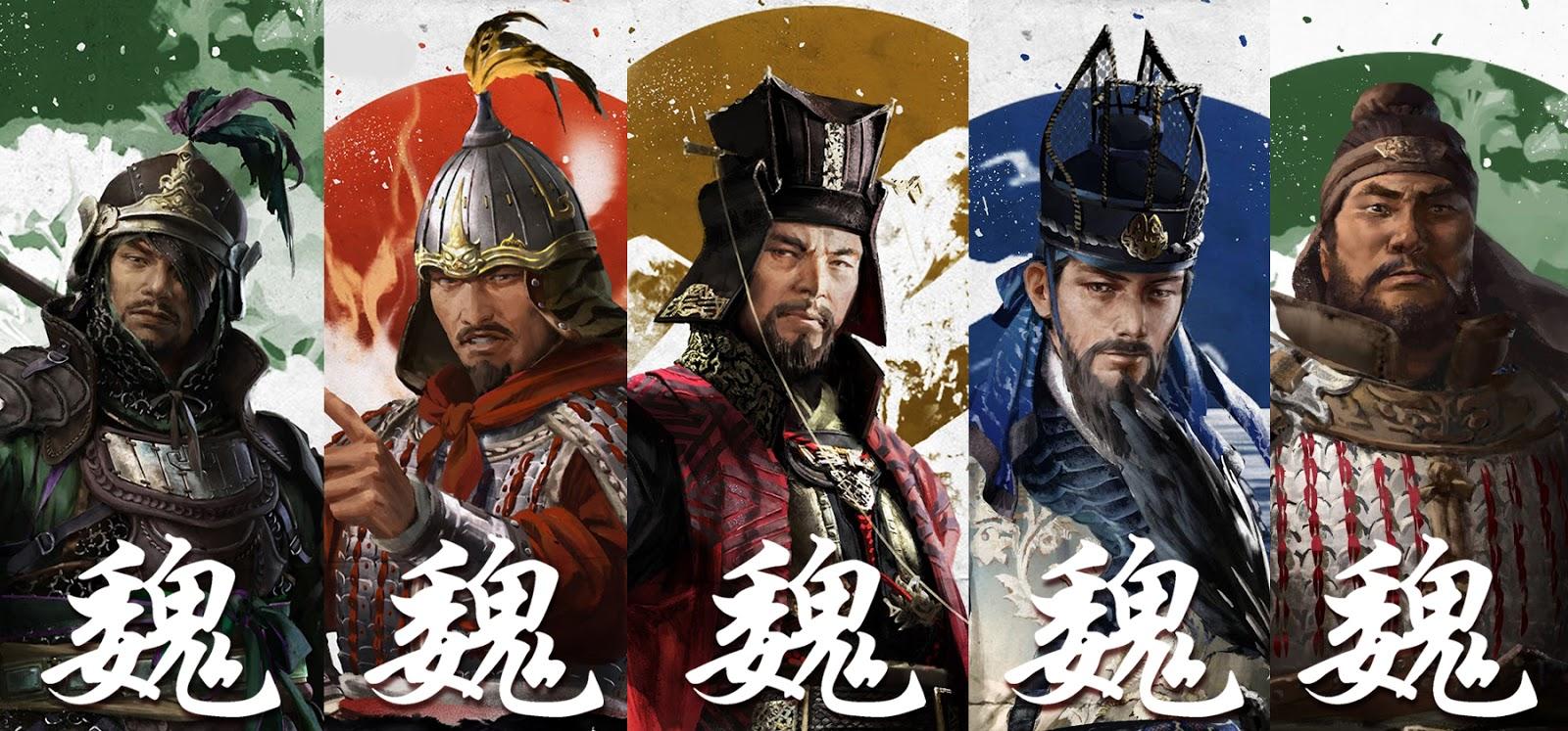 Full Wei Hero Roster (Total War Three Kingdoms) 全面战争
