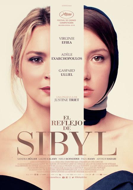 Cartel El reflejo de Sibyl