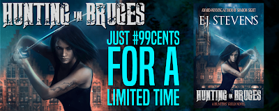 hunting in bruges urban fantasy sale book bargain deal