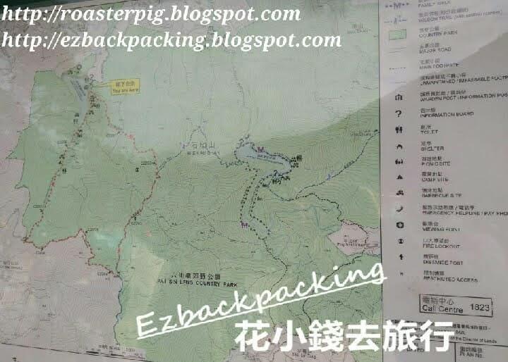 流水響郊遊徑地圖