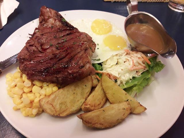 Steak Heaven and Eggs
