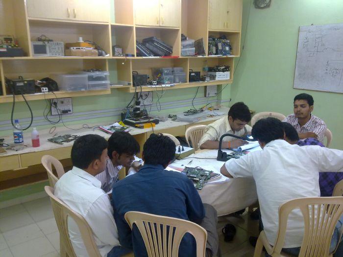 Chip level repairing training rcp technologies pvt ltd. Hyderabad.