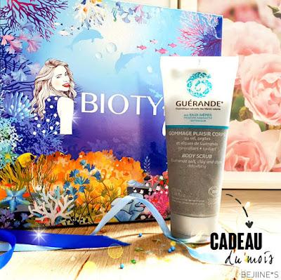 PURPLE*RAIN Biotyfull Box Juillet 2020 : Gommage Guérande