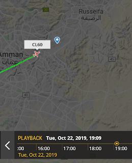 Cl-604 landing in Marka