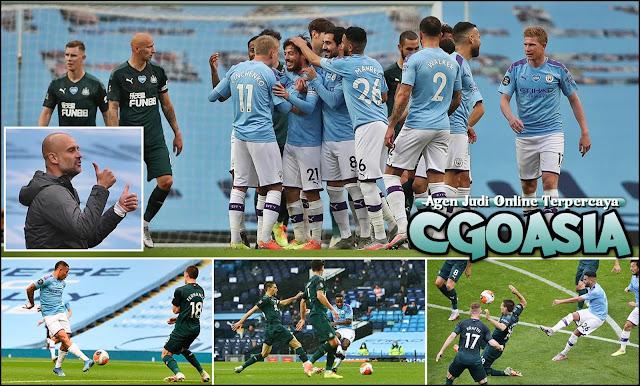 Manchester City kembali perkasa menghempas Toon Army 5 gol - Rumahsport.com