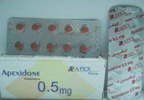 Apexidone 0.5mg سعر