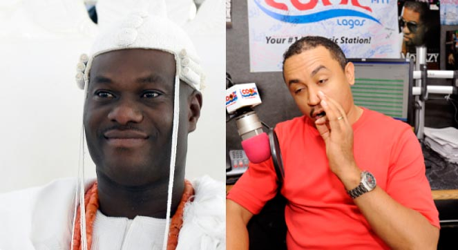Fans blast Freeze after he poked fun at Ooni Of Ife