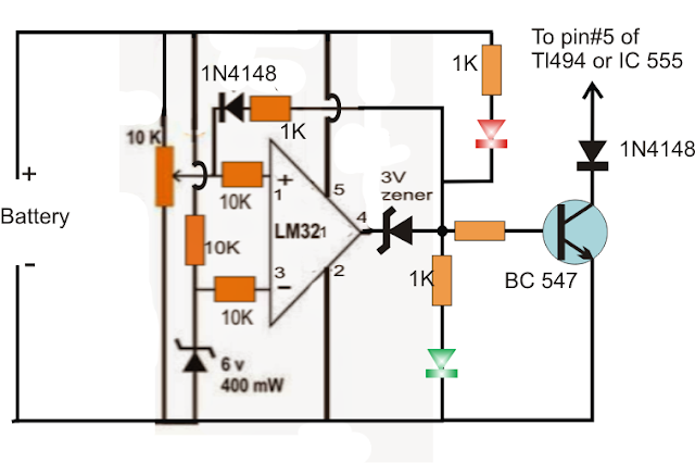 LM321 opamp charger