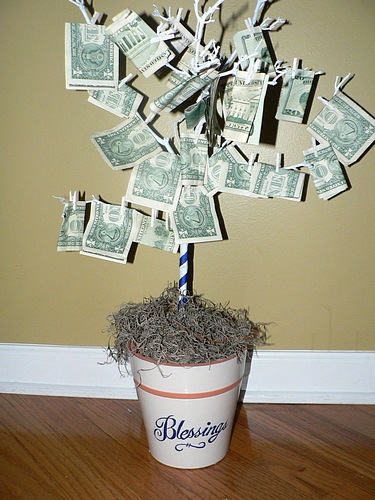 Oui Personalize How To Make A Money Tree