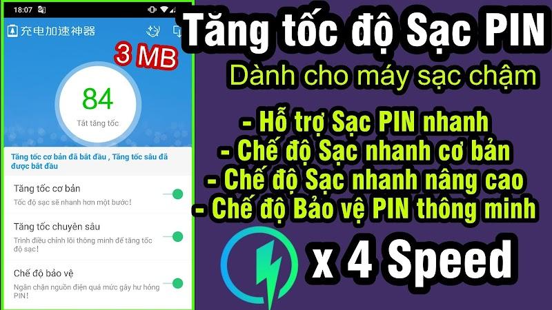 Ứng dụng bá đạo hỗ trợ Sạc Nhanh + Siêu Nhanh & Bảo vệ PIN cho mọi Android - NO ROOT
