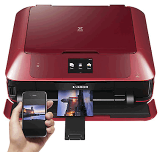Canon PIXMA MG7752 Driver Download All-In-One Wireless Wi-Fi NFC Printer with Colour Touch Screen