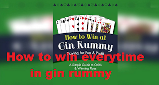 How to win everytime in gin rummy [easy and fast]
