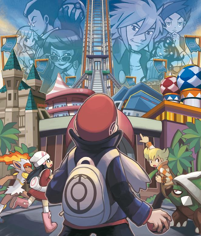 Pokémon Platinum Battle Frontier