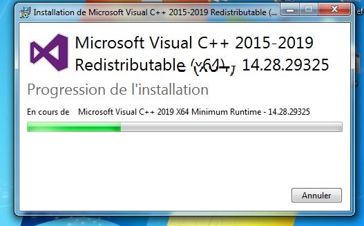 صورة توضح لتثبيت البرنامج التكميلي حتى يعمل البرنامج بدون مشاكل