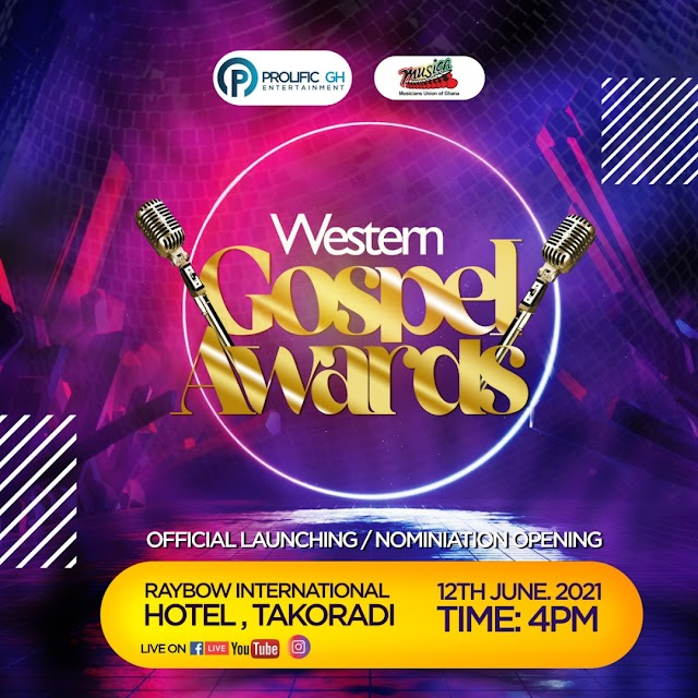 First Ever Western Gospel Awards To Be Launched On June 12