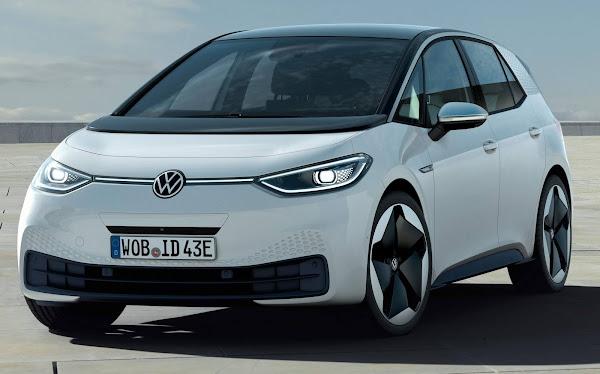 VW ID.3 foi o carro mais vendido da Suécia em dezembro