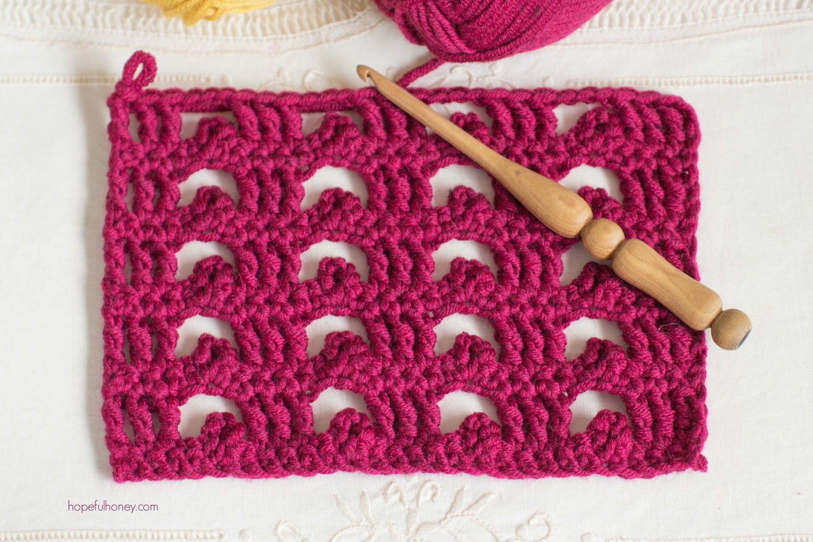 ... Crochet, Create: How To: Crochet The Boxed Picot Stitch - Easy