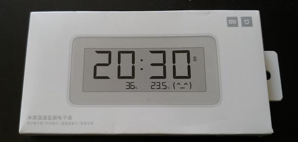 Integration of Mijia clock, temperature and humidity sensor