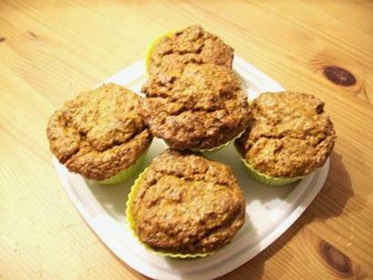 vegane karotten-ingwer-küchlein - kuchen-rezept