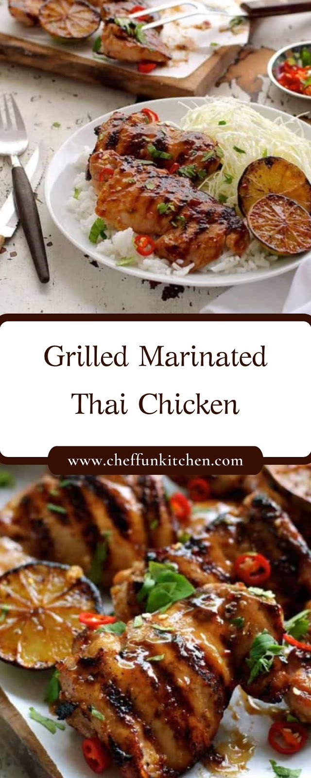 Grilled Marinated Thai Chicken