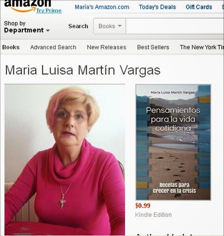 Amazon Autor Maria Luisa Martín Vargas