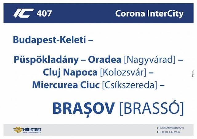 Már másfél millió utas találkozhatott határon túli magyar helységnevekkel a MÁV tájékoztató eszközein