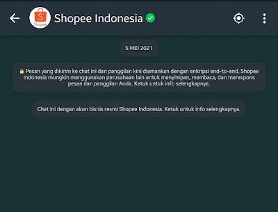 Maraknya Penipuan Shopeepay WhatsApp dengan iming - iming Saldo Shopee