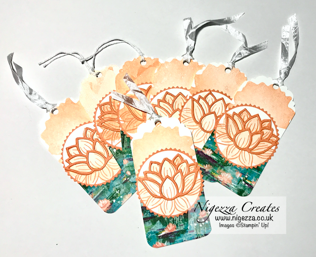 Nigezza Creates with Stampin' Up! Lily Pad Stamps, Dies & Paper
