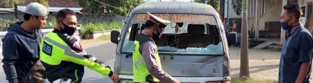 Pejalan Kaki Di Ngunut Meninggal, Tertabrak Mobil Saat Menyeberang Jalan