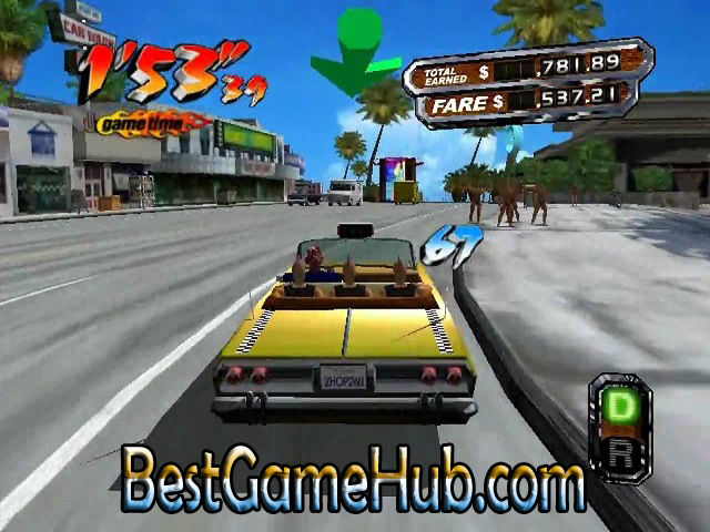 Crazy Taxi 3 PC Game With Crack Download Free