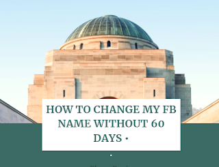How to edit name on facebook Page