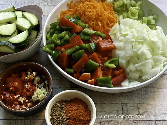 Chilli ingredients
