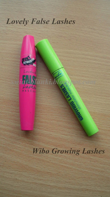 Lovely, False Lashes vs Wibo Growing Lashes