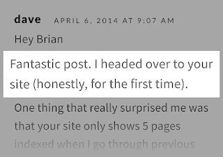 Off-Page SEO Komentar dari pembaca Guest post