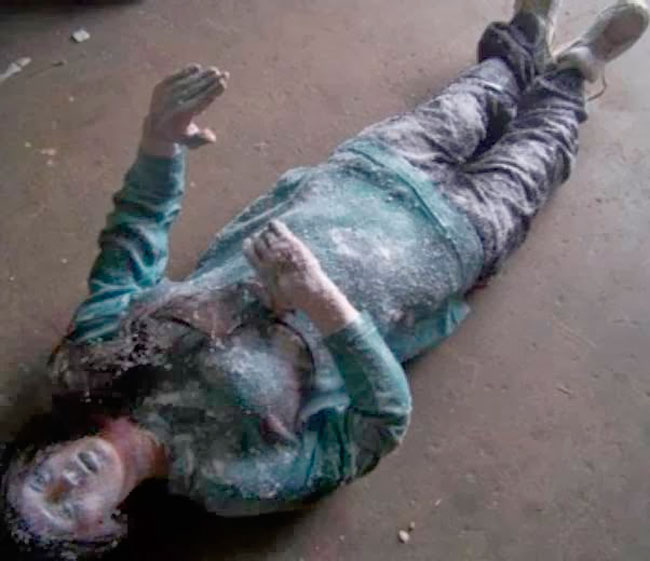 """Jean Hilliard, """"a garota de gelo"""" - Foto: Reprodução"""