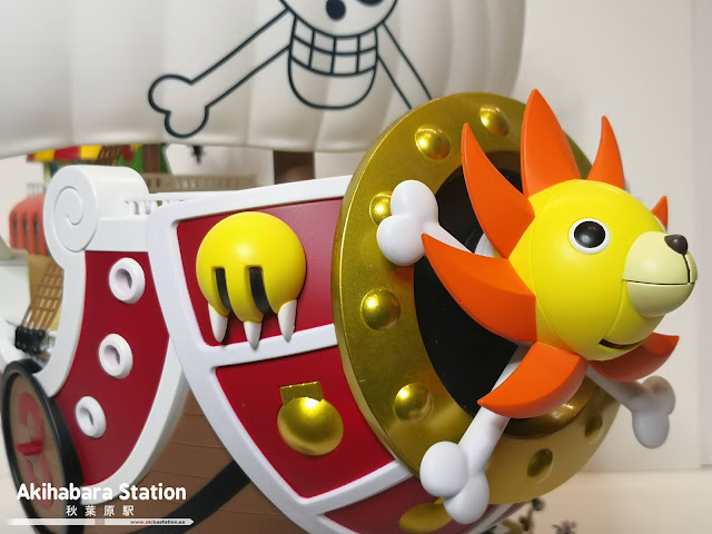 Review de Chogokin Thousand Sunny de One Piece - Tamashii Nations