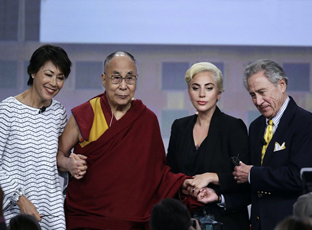 Lady Gaga Speaks at U.S. Conference of Mayors