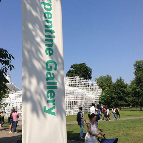 Serpentine Gallery, Kensington Gardens, London, UK