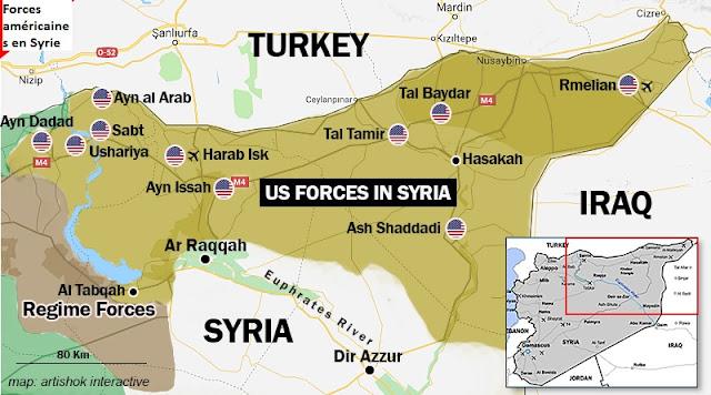 """Résultat de recherche d'images pour """"bases américaines en syrie"""""""