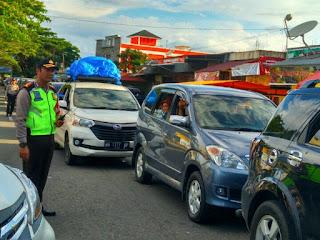 H+5 Begini Kondisi Jalan Menuju Riau di Payakumbuh