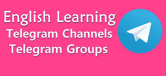 Best English Speaking Telegram Channel 2020