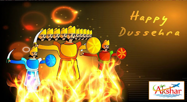Happy Dussehra - Domestic and International Air Ticket, Hotel Booking, Tour Packages, western union money transfer, travel insurance, visa, passport, railway ticket, hotel booking and more... 9427703236 / 8000999660