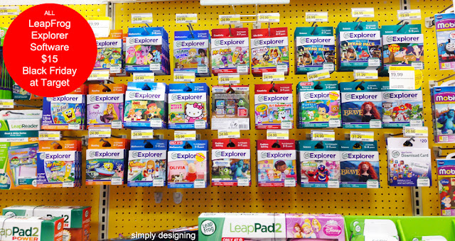 LeapFrog Explorer Games Black Friday Deals at Target #MyKindofHoliday